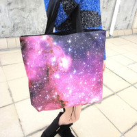 Fantasy Starry Sky Fashion Shoulder Bag For Her from Charming Galaxy