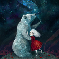 8X10 Star Bear Watched Over Her - Meluseena print