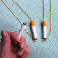 CIGARETTE NECKLACE