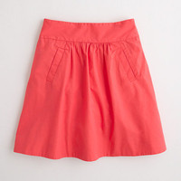 Factory April skirt in cotton poplin