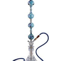 myan crystal hookah, hand made