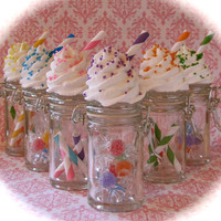 Candy Land Inspired Jar Collection Set 6 Orig. 12 Legs Concept Fab Candyland Birthday Favor/Decor Idea