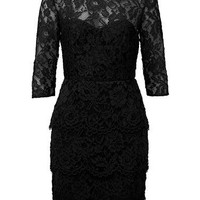 Womens Dresses & Tunics | Lace Peplum Dress | Seed Heritage