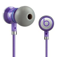 Monster Cable iBeats Bieber Limited Edition Headphones with ControlTalk - Purple