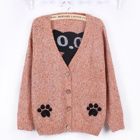 Japanese Cute Cat Cardigan [72]