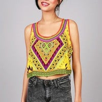 Radiant Indie Tank | Bright Tops at Pink Ice