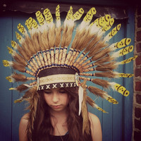 Hand Made Native American Head Dress
