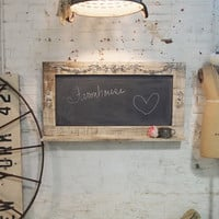 Painted Cottage Chic Shabby Large Chalkboard HD38