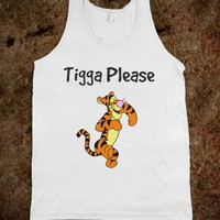 Funny Tigger Tank