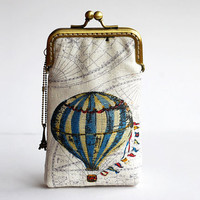 Hot Air Balloon Iphone case gadget case iPhone sleeve( iPhone 5, Samsung Galaxy s3 Size available)