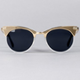 Lazy Oaf | Spitfire Anglo Sunglasses in Gold
