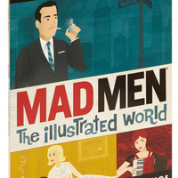 Mad Men: The Illustrated World | Mod Retro Vintage Books | ModCloth.com