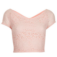 Tall Lace Crop Top - New In This Week  - New In
