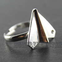 One Direction Paper Airplane Ring Harry Styles Paper Airplane Charm