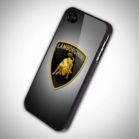lamborghini case - iPhone 4 Case, iPhone 4s Case and iPhone 5 case Hard Plastic Case
