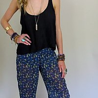 Tipsy Pant ~ Berkeley Paisley | Show Me Your Mumu
