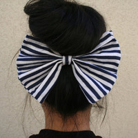 Accessories Oversize Hair Bow Jumbo Hair Bow Under Bun Bow - By PiYOYO
