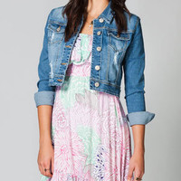 AMETHYST JEANS Vanessa Womens Denim Jacket