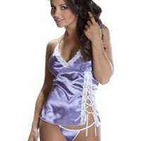 Amazon.com: Sexy Short Nightie Slip Babydoll Chemise & Matching G String Thong Lingerie Set (XXLarge): Clothing