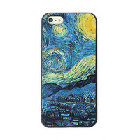 Van Gogh The Starry Night Phone Case For iPone 5 from Charming Galaxy