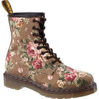 Dr. Martens 1460 W 8 Eye Boot Victorian Flowers