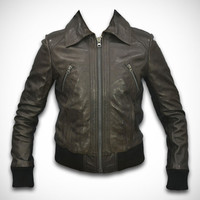leather jacket, leather jacket for women, style (Tanya), by Ruby Leather
