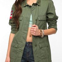 Urban Outfitters - Kill City Military Patch Surplus Jacket