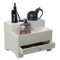 Richards Homewares 987501000 Personal Hair Styling Organizer - White: Home & Kitchen