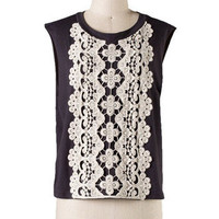 Daisy Duke Crochet Top - Black + White -  $38.00 | Daily Chic Tops | International Shipping