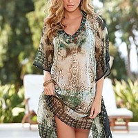 Snake skin tunic from VENUS