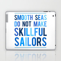 Skillful Sailors Laptop & iPad Skin by LitPrints | Society6
