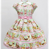 Angelic Pretty Online Shop | Dresses | Little Bear&#x27;s Cafe dress(Mint)