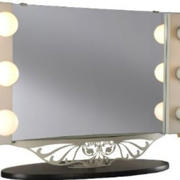Starlet Table Top Lighted Vanity Mirror from Amazon