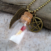 SuperNatural Protection Necklace By Studio 1968
