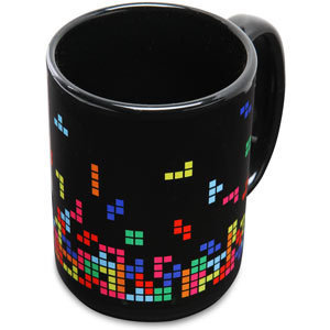ThinkGeek :: Tetris Mug