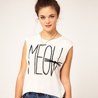 River Island | River Island Meow Tank at ASOS
