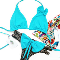 Brazilian Bow Bikini Set by CaipirinhaBikini on Etsy