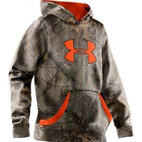 Under Armour Boys&#x27; Camouflage Big Logo Hoodie - Dick&#x27;s Sporting Goods
