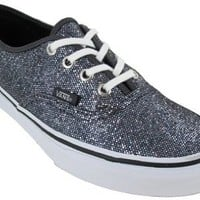 Vans Unisex VANS AUTHENTIC (GLITTER) SKATE SHOES: Shoes