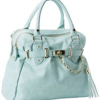 Steve Madden Bnancie Satchel,Mint,One Size: Clothing