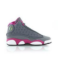 NIKE AIR JORDAN 13 XIII RETRO COOL GREY PINK WHITE PS with Receipt 