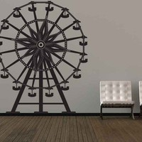 Ferris Wheel - Vinyl Wall Art Decal