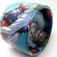CUSTOM ORDERCharacter of your choice bangle by Customcomix on Etsy