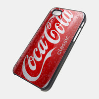 Coca Cola Drink Classic iPhone Case for iPhone 4, iPhone 5, Samsung S3, Samsung S2 Hot Edition