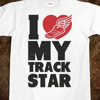I Love My Track Star - Athletica