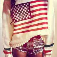 sirenlondon  Americana love sweater