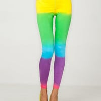 ~$76.00 Motel Jordan Skinny Jean in Rainbow Fade Print - Motel Rocks