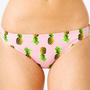 Puckered Pineapple Bikini Bottoms
