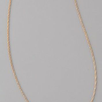 Jennifer Zeuner Cursive LOVE Necklace | SHOPBOP