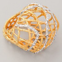 Alexis Bittar Woven Dome Ring | SHOPBOP